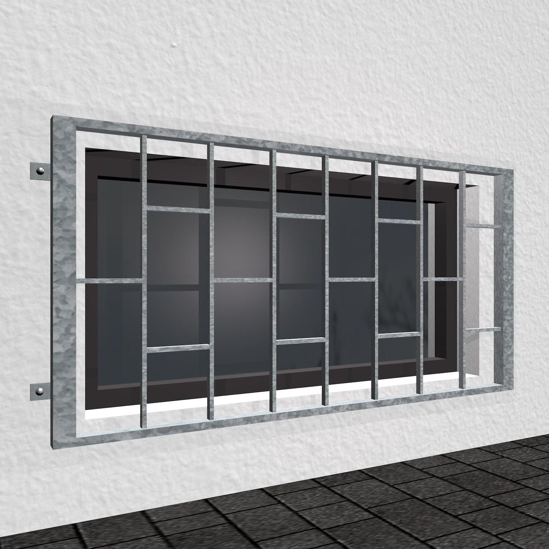 Kellerfenstergitter verzinkt Leiter