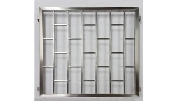 Fenstergitter Edelstahl - Modell Leiter