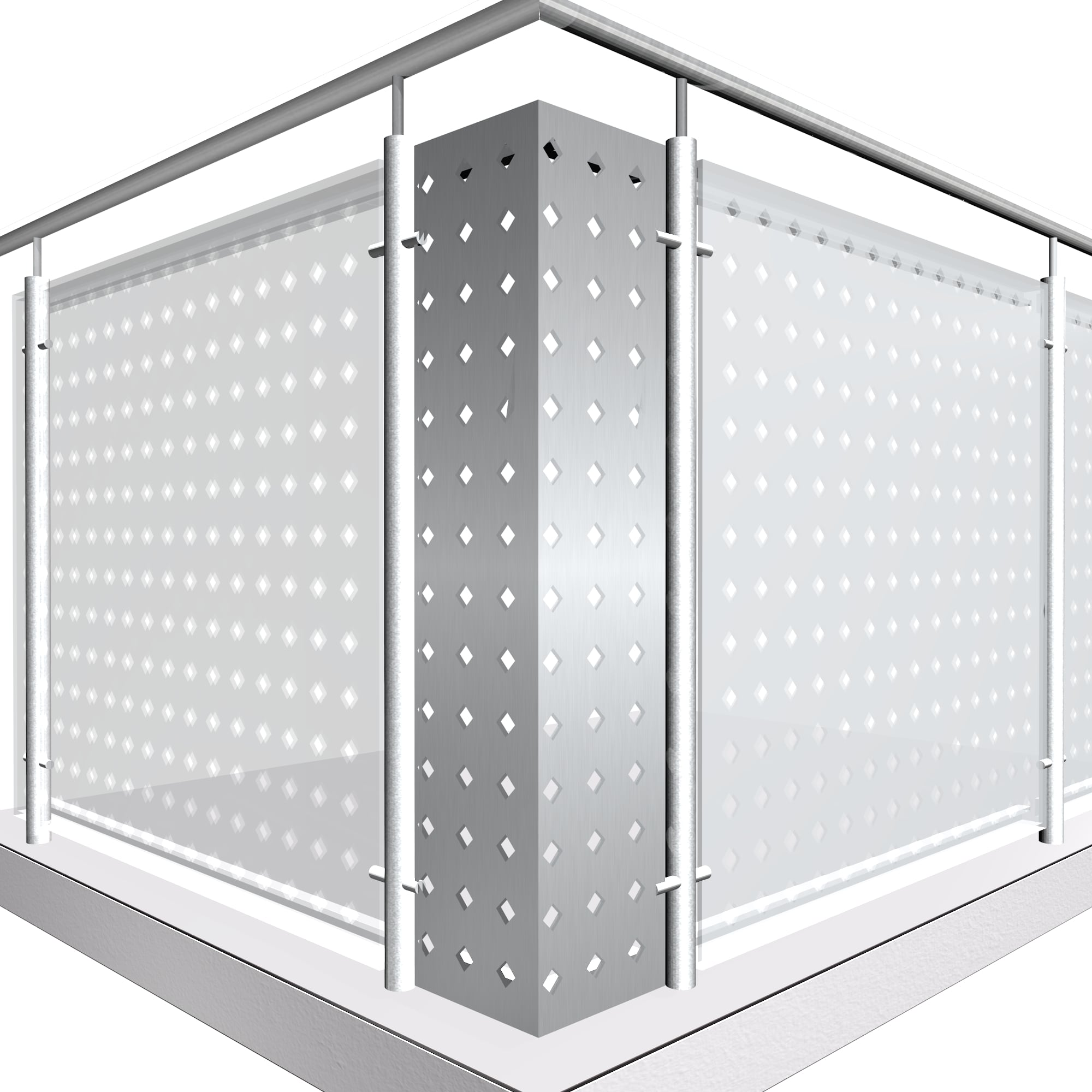 Eckelement Aluminium QL DI GE