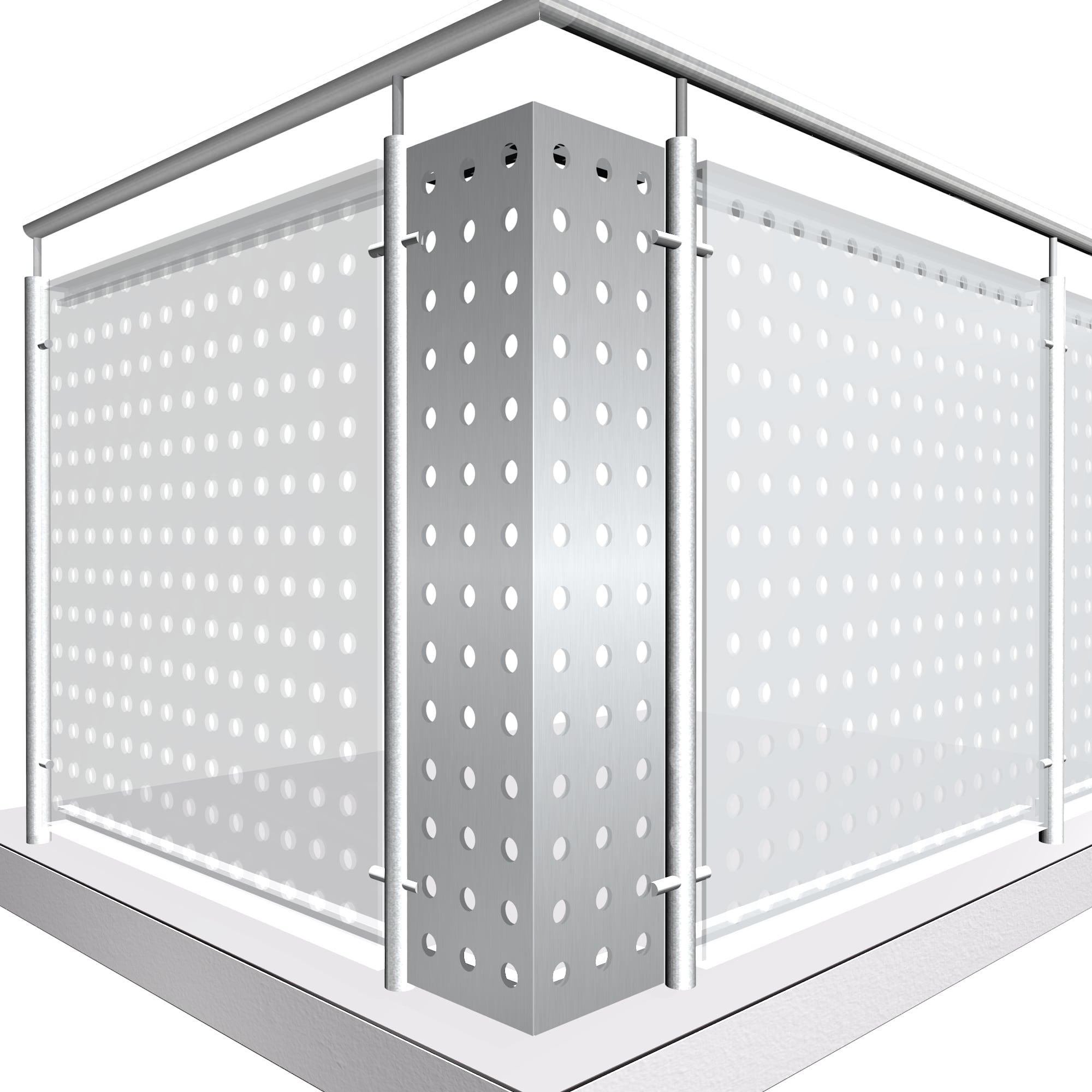 Eckelement Aluminium RL GE