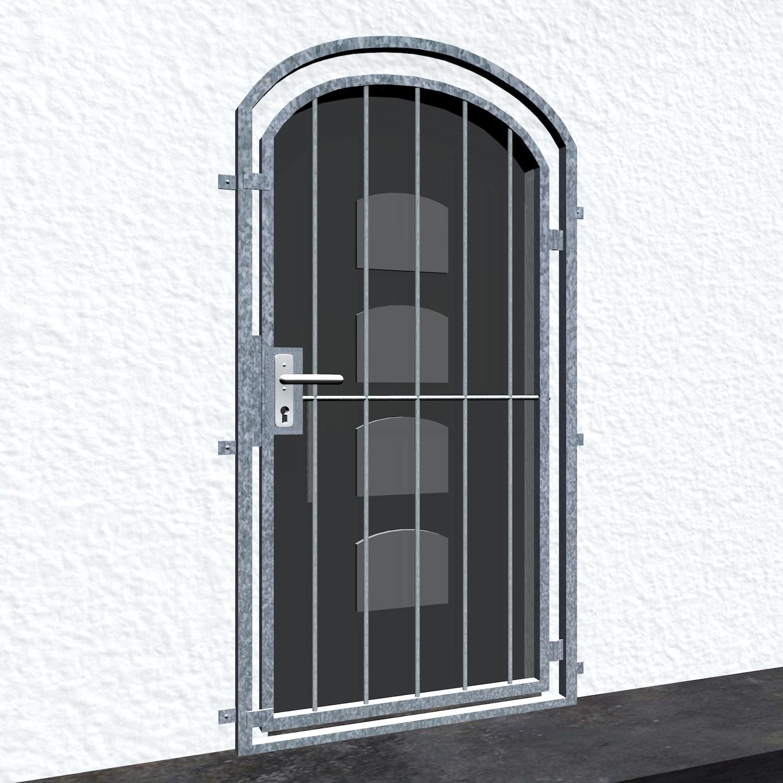 Gittertür verzinkt Vertikalstab Oberbogen