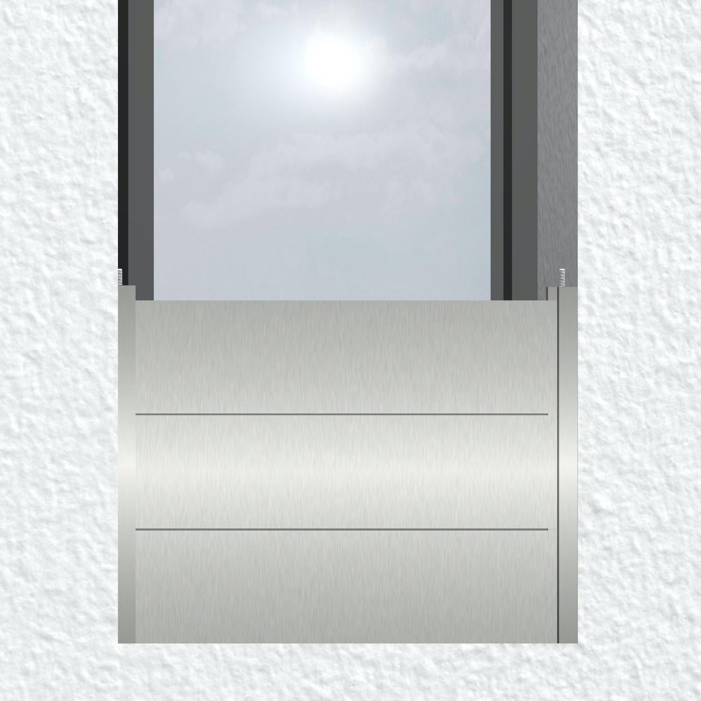 Mobiler Hochwasserschutz Aluminium für Fenster (Dammbalkensystem)