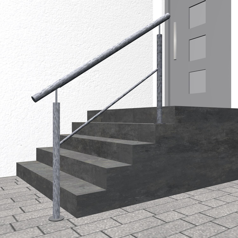 Treppengeländer verzinkt  FSG 1-3 Querstreben