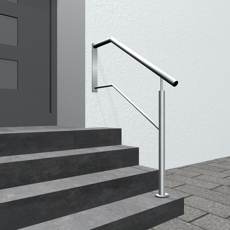 Treppengeländer Edelstahl WTS 1-6 Querstreben